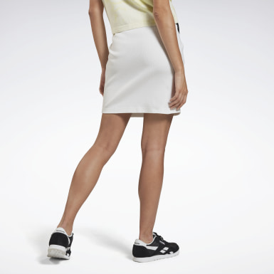 Women Classics White Classics Tight Skirt