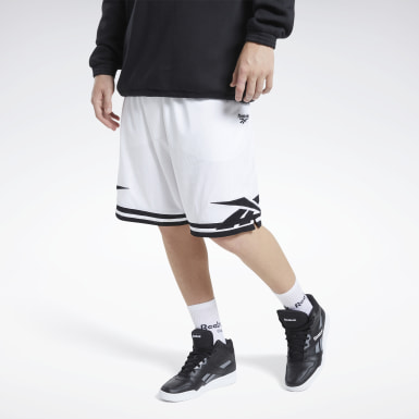Men Classics White Classics Basketball Shorts