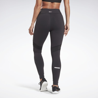 Frauen Studio LES MILLS® Lux Tight Schwarz