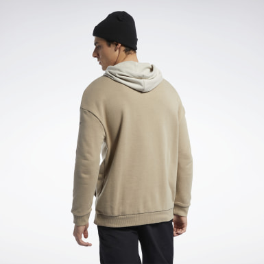 Herr Fitness & Träning Beige Meet You There Hoodie
