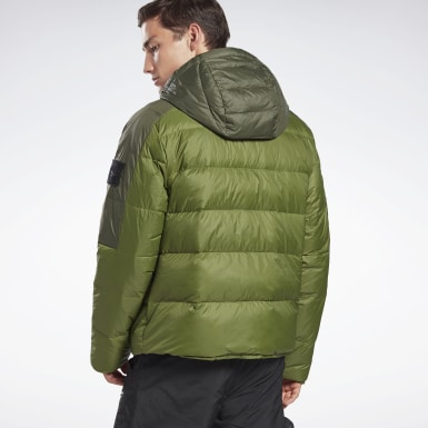 Men Outdoor Green Outerwear Core Down Jacket