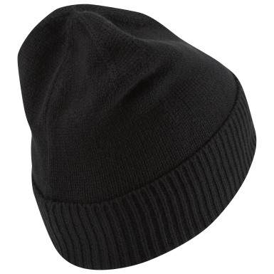 Women Training Black Sport Essentials Solid Beanie