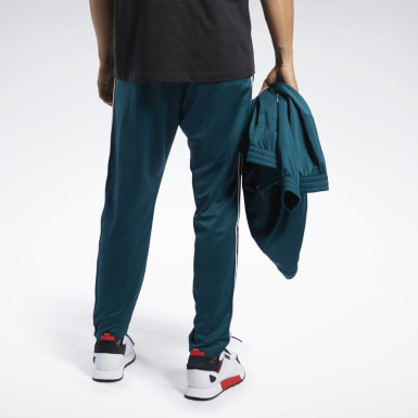 Men Classics Green Classics Vector Tape Track Pants