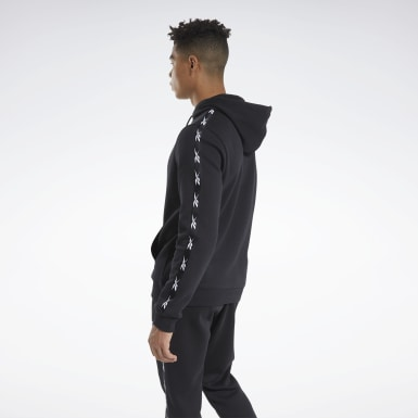 Herr Fitness & Träning Svart Training Essentials Tape Hoodie