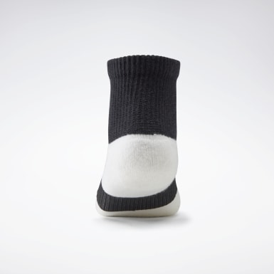 Women Casual White VB Ankle Socks