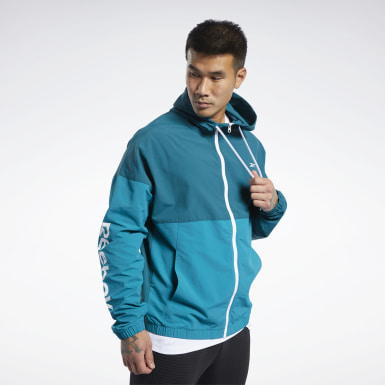 Men Training Training Essentials Linear Logo Windbreaker