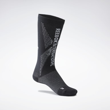 Fitness & Training Black One Series Engineered Crew Socks