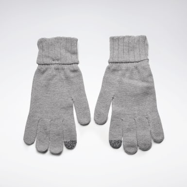 Fitness & Training Active Foundation Knit Gloves Grau