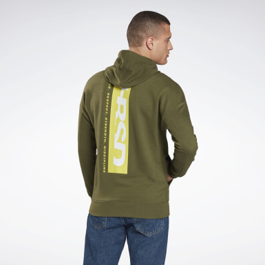 Men MMA Green UFC Fight Week Hoodie