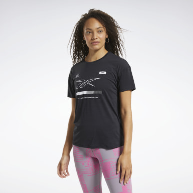 Kvinder Hiking Black ACTIVCHILL Graphic Tee