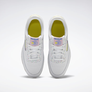 Girls Classics White Club C Shoes