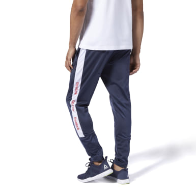 TE BL TRACK PANT Azul Hombre Fitness & Training