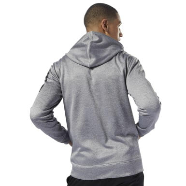 Sudadera con capucha de zipper completo Workout Ready Thermowarm