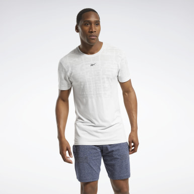 T-shirt MyoKnit United by Fitness Gris Hommes HIIT