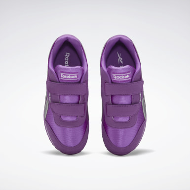 Kids Classics Purple Reebok Royal Classic Joggers 2 Shoes