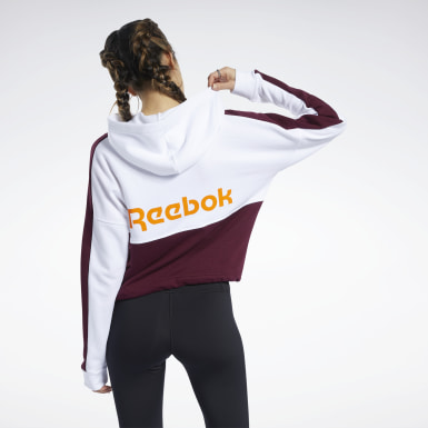 Sudadera Training Essentials Logo Blanco Mujer Fitness & Training