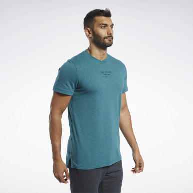 Men Fitness & Training Training Essentials Melange T-Shirt