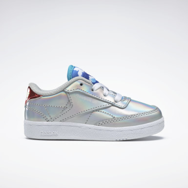 Kids Classics Silver Club C 85 Shoes