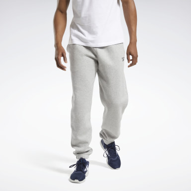 Pantalon Training Essentials Cuffed Grey Hommes Entraînement