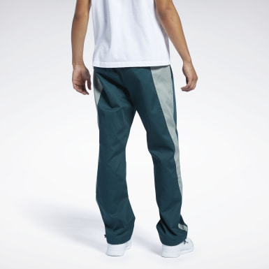 Men Classics Green Classics Washed Track Pants