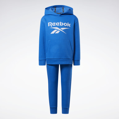 Boys Fitness & Training Blue Fleece Track Suit