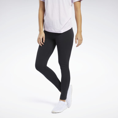 Kvinder Fitness & Training Black Training Essentials Cotton Leggings