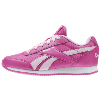 REEBOK ROYAL CLJOG 2RS Rose Enfants Classics