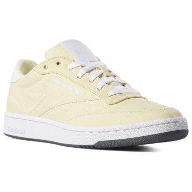 Classics Yellow Club C 85 Canvas Shoes