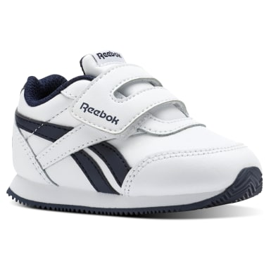 Infants Classics White Reebok Royal Classic Jogger 2.0 KC