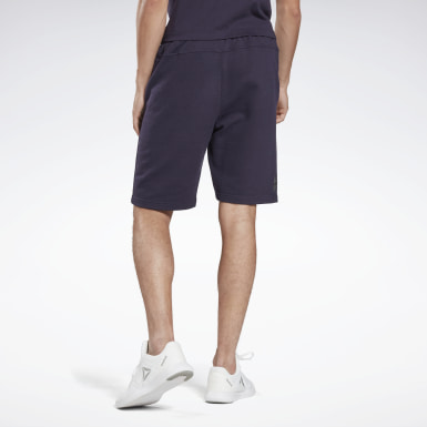 Heren Studio Paars LES MILLS® French Terry Short