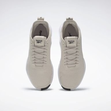 Women Running Beige Reebok Interrupted Sole Shoes