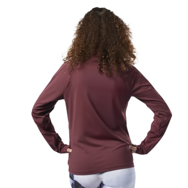 Women Fitness & Training Red Track Jacket