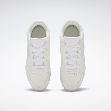 Boys Classics White Classic Leather Shoes - Preschool