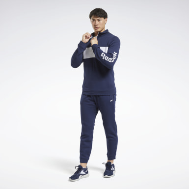 Männer Fitness & Training Training Essentials Linear Logo Track Suit Blau