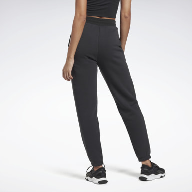 Women Yoga Black Studio Restorative Fleece Pants