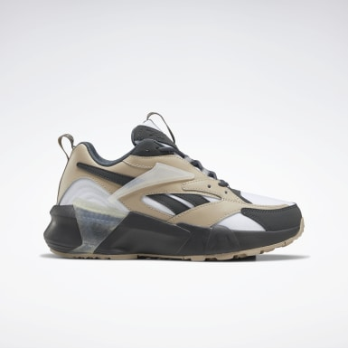 Kvinder Classics Grey Aztrek Double Mix Shoes