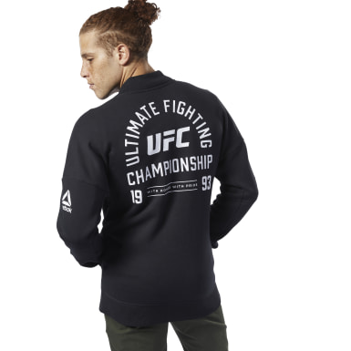 черный Куртка UFC Fan Gear Retro Stadium