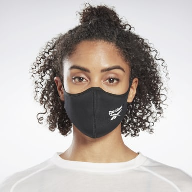 Lifestyle Black Face Covers M/L 3-Pack