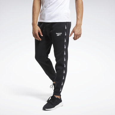 Men Fitness & Training Black Training Essentials Tape Jogger Pants