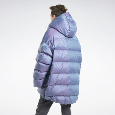 Outdoor Purple Reebok x MONOCHROME Down Puffer Jacket