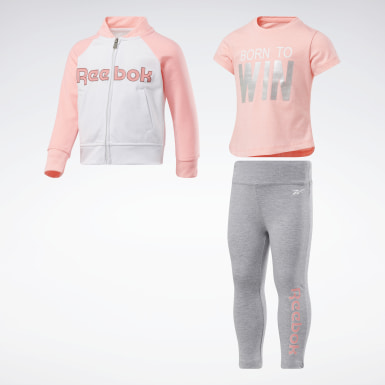 Girls Training 3-Piece Reebok Shine Set