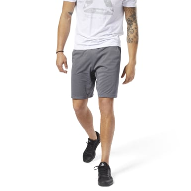 SHORTS  SpeedWick Knit Short Gris Hombre Fitness & Training
