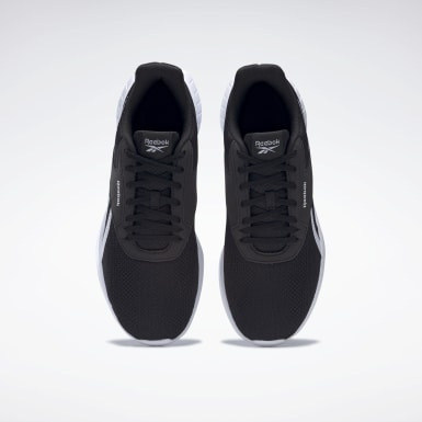 Men Running Black Reebok Lite 2 Shoes