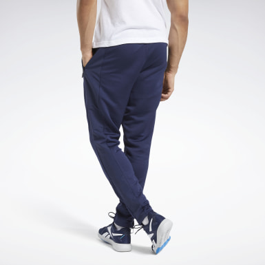 Men Training Blue Speedwick Layering Pants
