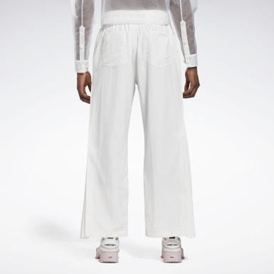 Classics White Reebok by Pyer Moss Pleated Track Pants