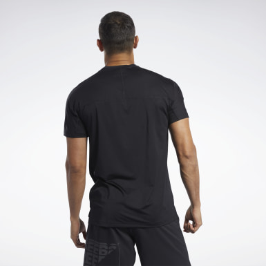 Men Hiking Black ACTIVCHILL Move Tee