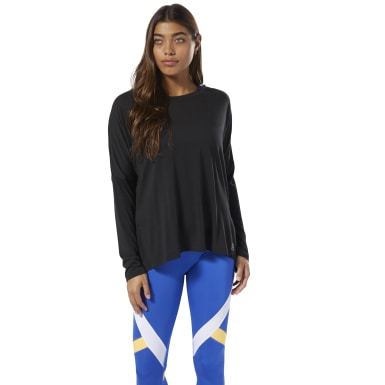 Women Training Black WOR Supremium Long Sleeve Tee