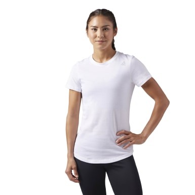 Remera Training Essentials Blanco Mujer Fitness & Training
