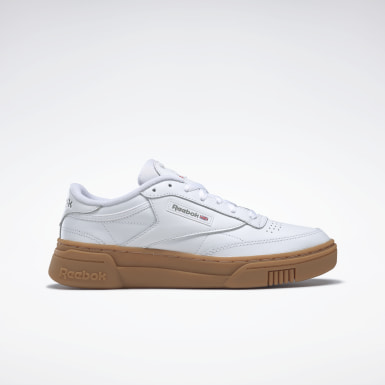 Women Classics White Club C Stacked Women's Shoes