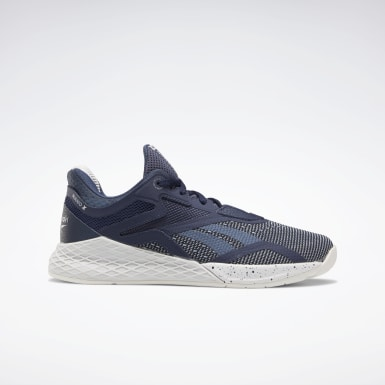 Kvinder Cross Training Blue Reebok Nano X Shoes